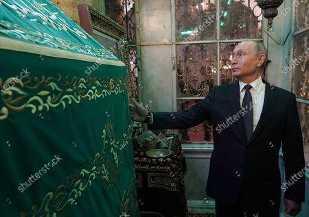 Editorial photo of Russian President Vladimir Putin visit to Damascus, Syria - 07 Jan 2020