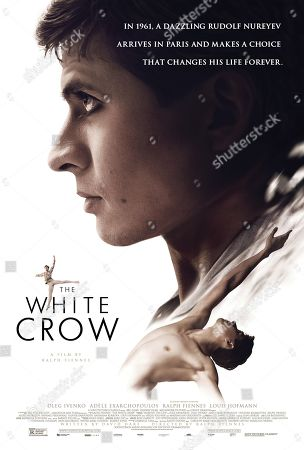 Stock Picture of The White Crow (2018) Poster Art. Oleg Ivenko as Rudolf Nureyev