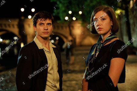 Oleg Ivenko as Rudolf Nureyev and Adele Exarchopoulos as Clara Saint