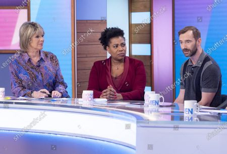Stock Picture of Ruth Langsford, Brenda Edwards, Charlie Condou