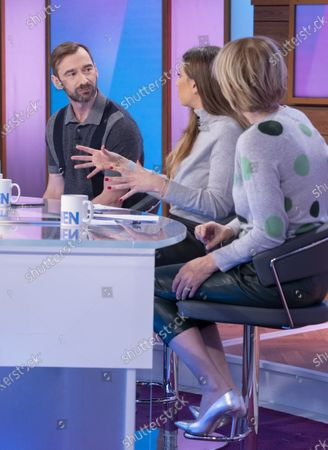 Charlie Condou, Stacey Solomon and Jane Moore