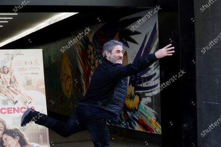 Spanish actor and cast member of the movie 'La inocencia. La culpa no existe' (lit. The innocence. Guilt doesn't exist), Sergi Lopez, pose for the photographers during the photocall in Madrid, Spain, 08 January 2020. The film will premiered at Spanish cinemas next 10 January.