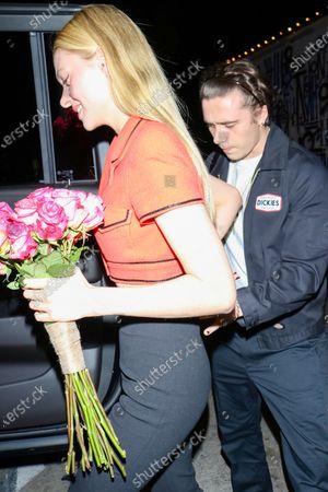 Nicola Peltz and Brooklyn Beckham at Craig's Restaurant