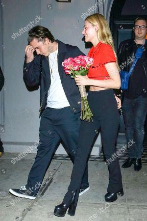 Brooklyn Beckham and Nicola Peltz at Craig's Restaurant