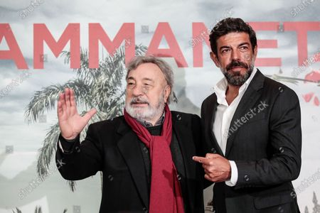 Stock Photo of Gianni Amelio and Pierfrancesco Favino