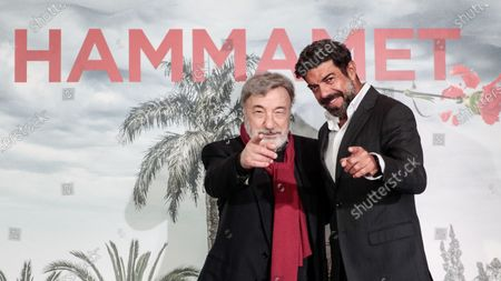 Stock Image of Gianni Amelio and Pierfrancesco Favino