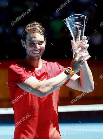 Editorial picture of ATP Cup tennis tournament, Perth, Australia - 08 Jan 2020