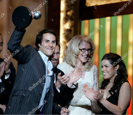 """Silvio Horta, America Ferrara. Silvio Horta, producer of """"Ugly Betty,"""" accepting the award for outstanding comedy series with star America Ferrara, right, at the 38th NAACP Image Awards in Los Angeles. Horta died in Miami on . He was 45"""