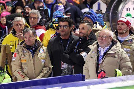 Editorial photo of Alpine Skiing World Cup in Madonna di Campiglio, Italy - 08 Jan 2020