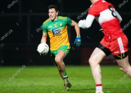 Derry vs Donegal. Donegal's Paul Brennan