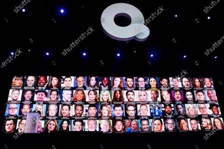 Editorial photo of Consumer Electronics Show - Keynote, Las Vegas, USA - 08 Jan 2020