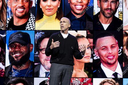 Editorial image of Consumer Electronics Show - Keynote, Las Vegas, USA - 08 Jan 2020