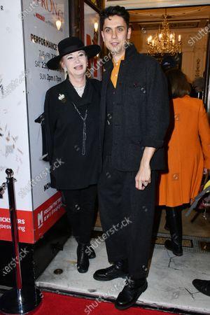 Editorial image of 'Magic Goes Wrong' play press night, London, UK - 08 Jan 2020