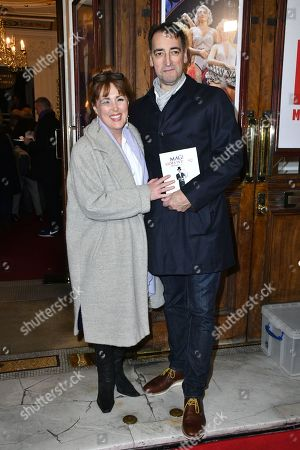 Stock Photo of Charlotte Page and Alistair McGowan