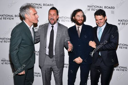 Ronald Bronstein, Adam Sandler, Joshua Safdie and Ben Safdie