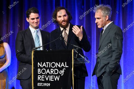 Ben Safdie, Joshua Safdie and Ronald Bronstein