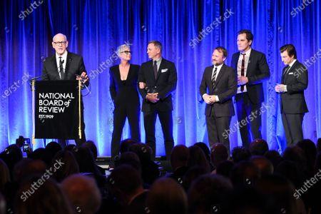 Frank Oz, Jamie Lee Curtis, Daniel Craig, Rian Johnson, Michael Shannon and Noah Segan