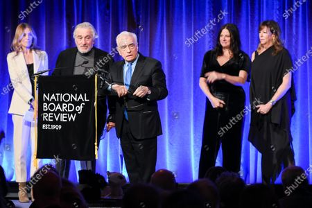 Kathryn Bigelow, Martin Scorsese, Jane Rosenthal, Robert De Niro and Emma Tillinger Koskoff