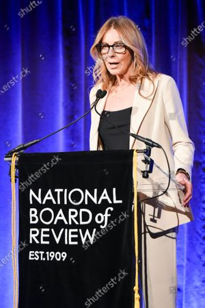 Editorial image of National Board of Review Annual Awards Gala, Inside, Cipriani 42nd Street, New York, USA - 08 Jan 2020