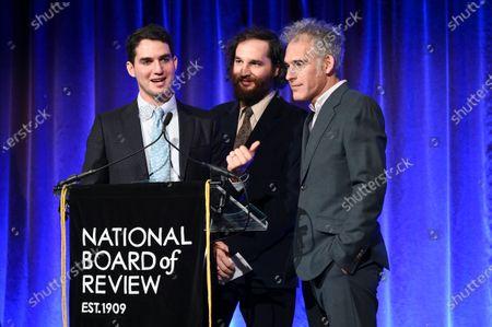 Ben Safdie, Joshua Safdie and Ronald Bronstein