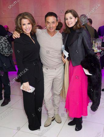 Natasha Kaplinsky, Bruno Tonioli and Darcey Bussell