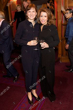 Stock Image of Fiona Bruce and Natasha Kaplinsky
