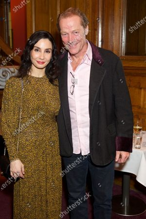 Tamara Rojo and Iain Glen