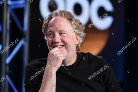 "Timothy Busfield at the Disney/ABC Television Group 2015 Winter TCA in Pasadena, Calif. ABC has given the go-ahead to a pilot for ""thirtysomething(else),"" a sequel to the series that followed a group of baby boomers and their struggles. The show will feature a group of new actors playing the grown-up, 30-something children of the original cast. Ken Olin, Mel Harris, Timothy Busfield and Patricia Wettig have signed on to reprise their roles"