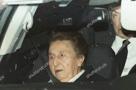 Editorial picture of Princess Pilar of Borbon funeral, Madrid, Spain - 08 Jan 2020