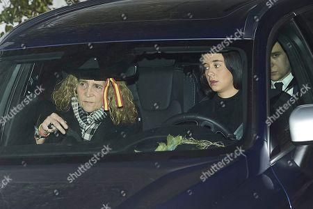 Princess Elena, Victoria Federica de Marichalar and Felipe Juan Froilan de Marichalar