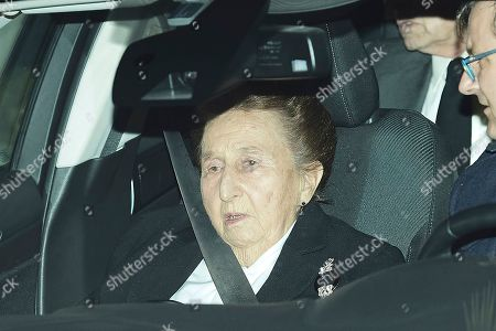 Editorial image of Princess Pilar of Borbon funeral, Madrid, Spain - 08 Jan 2020