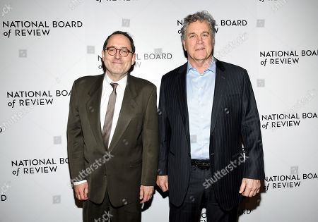 Michael Barker, Tom Bernard. Sony Pictures Classics co-presidents Michael Barker, left, and Tom Bernard attend the National Board of Review Awards gala at Cipriani 42nd Street, in New York