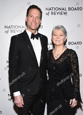 Alex Holmes, Tracy Edwards. Alex Holmes, left, and Tracy Edwards attend the National Board of Review Awards gala at Cipriani 42nd Street, in New York