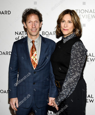 Tim Blake Nelson, Lisa Benavides. Actor Tim Blake Nelson, left, and wife Lisa Benavides attend the National Board of Review Awards gala at Cipriani 42nd Street, in New York