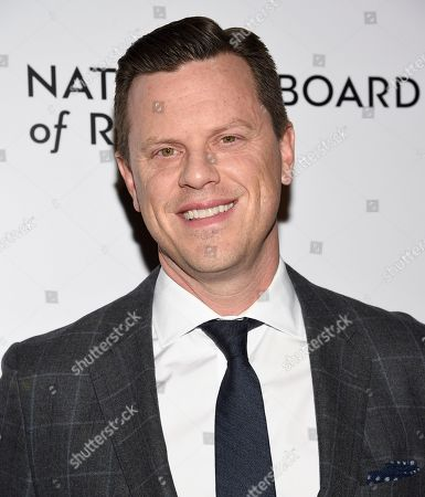 Willie Geist attends the National Board of Review Awards gala at Cipriani 42nd Street, in New York