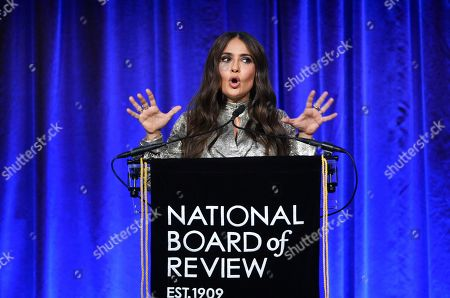 Editorial picture of 2020 National Board of Review Awards Gala, New York, USA - 08 Jan 2020