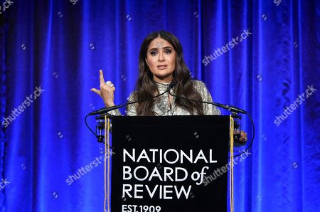 Editorial photo of 2020 National Board of Review Awards Gala, New York, USA - 08 Jan 2020