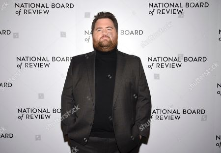 Paul Walter Hauser attends the National Board of Review Awards gala at Cipriani 42nd Street, in New York