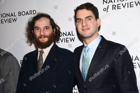 Josh Safdie, Benny Safdie. Josh Safdie, left, and Benny Safdie attend the National Board of Review Awards gala at Cipriani 42nd Street, in New York