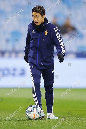 Stock Photo of Shinji Kagawa of Real Zaragoza