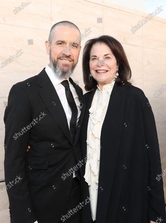 Jim Toth and Sherry Lansing