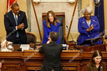 Editorial image of Virignia Legislature Democratic Takeover, Richmond, USA - 08 Jan 2020