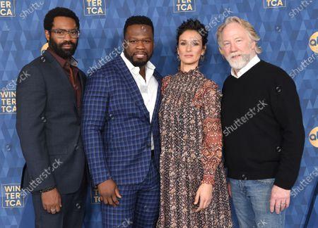 Nicholas Pinnock, 50 Cent, Indira Varma and Timothy Busfield