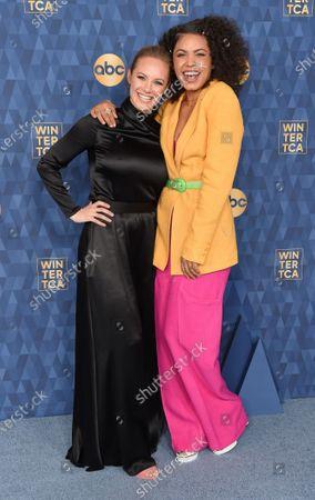 Danielle Savre and Barrett Doss