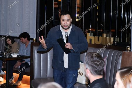 Editorial photo of Hulu and David Chang celebrate Creativity in Streaming TV, CES Entertainment Summit, Las Vegas, USA - 08 Jan 2020
