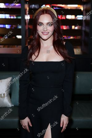 Madeline Brewer attends Hulu and David Chang's dinner to celebrate creativity in streaming TV at Majordomo Meat & Fish in Las Vegas