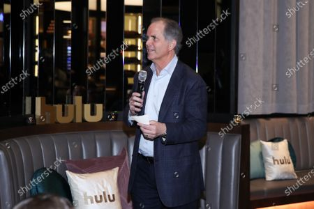 Randy Freer attends Hulu and David Chang's dinner to celebrate creativity in streaming TV at Majordomo Meat & Fish in Las Vegas