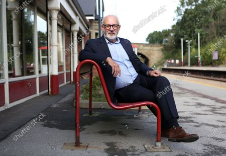 Jon Trickett is a British Labour politician who has been the member of parliament for Hemsworth in west Yorkshire since 1996. Jon Trickett is photographed at Moorthorpe railway station where his constituency offices is based.
