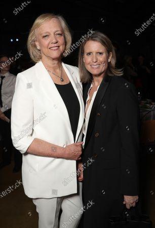 Meg Whitman and Deanna Brown