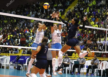 Editorial photo of Volleyball Pre-Olympic Championship in Bogota, Colombia - 08 Jan 2020